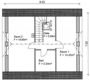 Grundriss Einfamilienhaus 1-88