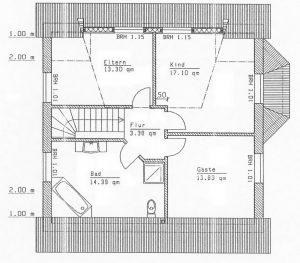 Grundriss Einfamilienhaus 13-131
