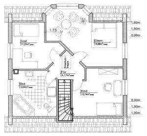 Grundriss Einfamilienhaus 16-135