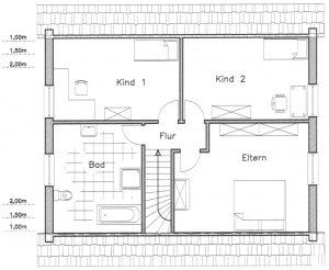 Grundriss Einfamilienhaus 17-134