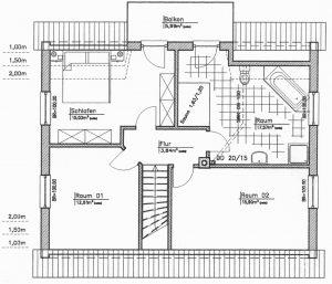Grundriss Einfamilienhaus 18-134
