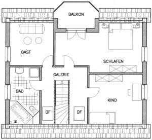Grundriss Einfamilienhaus 19-136