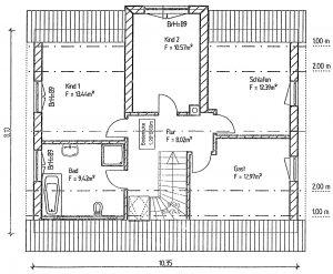 Grundriss Einfamilienhaus 20-139