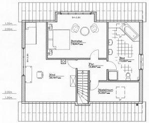 Grundriss Einfamilienhaus 22-146