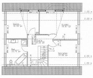 Grundriss Einfamilienhaus 23-147