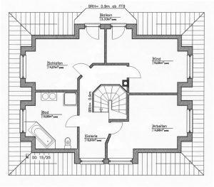 Grundriss Einfamilienhaus 24-147