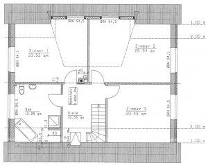 Grundriss Einfamilienhaus 26-192