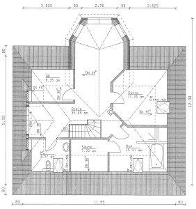 Grundriss Einfamilienhaus 27-195