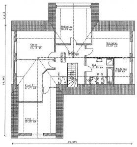 Grundriss Einfamilienhaus 28-231
