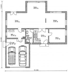 Grundriss Einfamilienhaus 28-231 EG