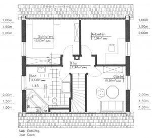 Grundriss Einfamilienhaus 3-101