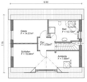 Grundriss Einfamilienhaus 5-112