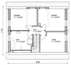 Grundriss Einfamilienhaus 7-113