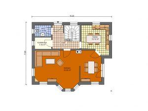 Grundriss Einfamilienhaus 8 Prospekt EG