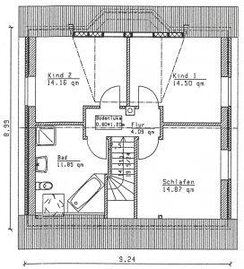 Grundriss Einfamilienhaus 9-123