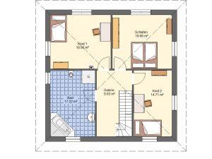 Grundriss Stadtvilla 5 Prospekt DG