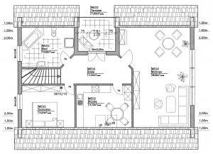 Grundriss Zweifamilienhaus 3